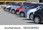 car park in parking lot... | Shutterstock . vector #585038983