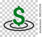 money area icon. vector... | Shutterstock .eps vector #585119143