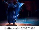 flamenco  spain  dance | Shutterstock . vector #585173503