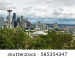 seattle  usa   june 24  2016 ... | Shutterstock . vector #585354347
