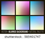 blurred abstract backgrounds... | Shutterstock . vector #585401747