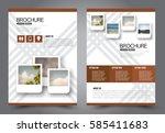 business brochure template....   Shutterstock .eps vector #585411683