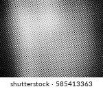 ink print distress background .... | Shutterstock .eps vector #585413363