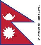 nepal | Shutterstock .eps vector #585533963