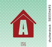 home icon. flat style for...