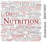 concept or conceptual nutrition ...   Shutterstock . vector #585673907