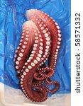 Japanese Food Octopus Legs