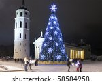 City Christmas Tree  Vilnius ...