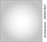 abstract halftone pattern... | Shutterstock .eps vector #585857867
