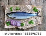 Delicious Salted Herring With...