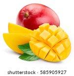 Mango Isolated On White...