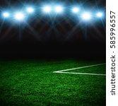 soccer field textured... | Shutterstock . vector #585996557
