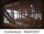 Inside The Abandoned Farmhouse.