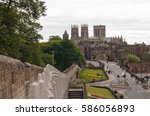 A View Of York From The Wall