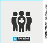 medical group icon simple
