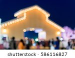 abstract blurred background of...   Shutterstock . vector #586116827