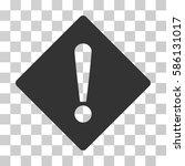 error rhombus vector pictogram. ... | Shutterstock .eps vector #586131017