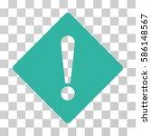 error rhombus vector icon.... | Shutterstock .eps vector #586148567