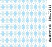 Vector Argyle Pattern...