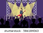 Concert Pop Group Artists On...