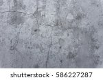 cracked stone texture plastered ... | Shutterstock . vector #586227287