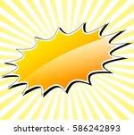 illustration of yellow...   Shutterstock .eps vector #586242893
