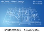 3d rendering vector... | Shutterstock .eps vector #586309553