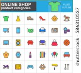shop product categories line...