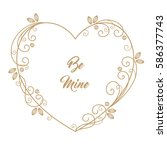 Romantic Greeting Card With...