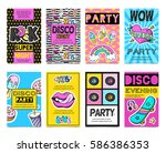 colored stylish fashion patch...