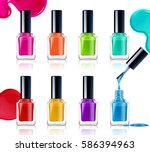 Nail Polish Assortment Of...