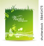 vector eco design | Shutterstock .eps vector #58641475