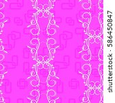 endless abstract pattern.... | Shutterstock .eps vector #586450847