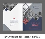 cover design annual report ... | Shutterstock .eps vector #586455413