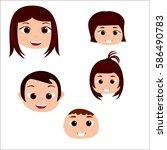 cartoon character  family