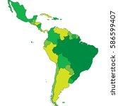 latin america | Shutterstock .eps vector #586599407