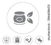vector cream icon   Shutterstock .eps vector #586608653