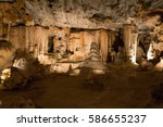 Inside View Of Cango Caves In...