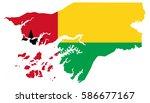 flag map of guinea bissau   Shutterstock .eps vector #586677167