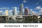 tampa  florida   january 8 ... | Shutterstock . vector #586733123