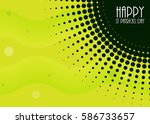 abstract background with saint... | Shutterstock . vector #586733657