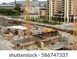 oslo  norway   august 28 ... | Shutterstock . vector #586747337