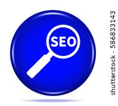 seo icon. internet button . 3d...
