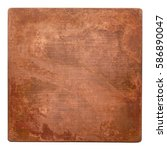 aged copper plate texture  old...   Shutterstock . vector #586890047