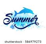 Abstract Summer Marine...