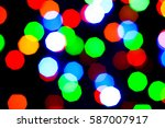 lights holiday bokeh. abstract... | Shutterstock . vector #587007917