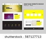 one page  black and yellow...