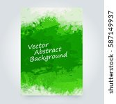 vector abstract background with ... | Shutterstock .eps vector #587149937