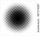 halftone pattern background... | Shutterstock .eps vector #587174087