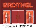 Brothel Entrance With...